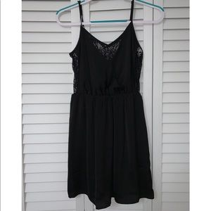 Forever21 Black Mini Dress